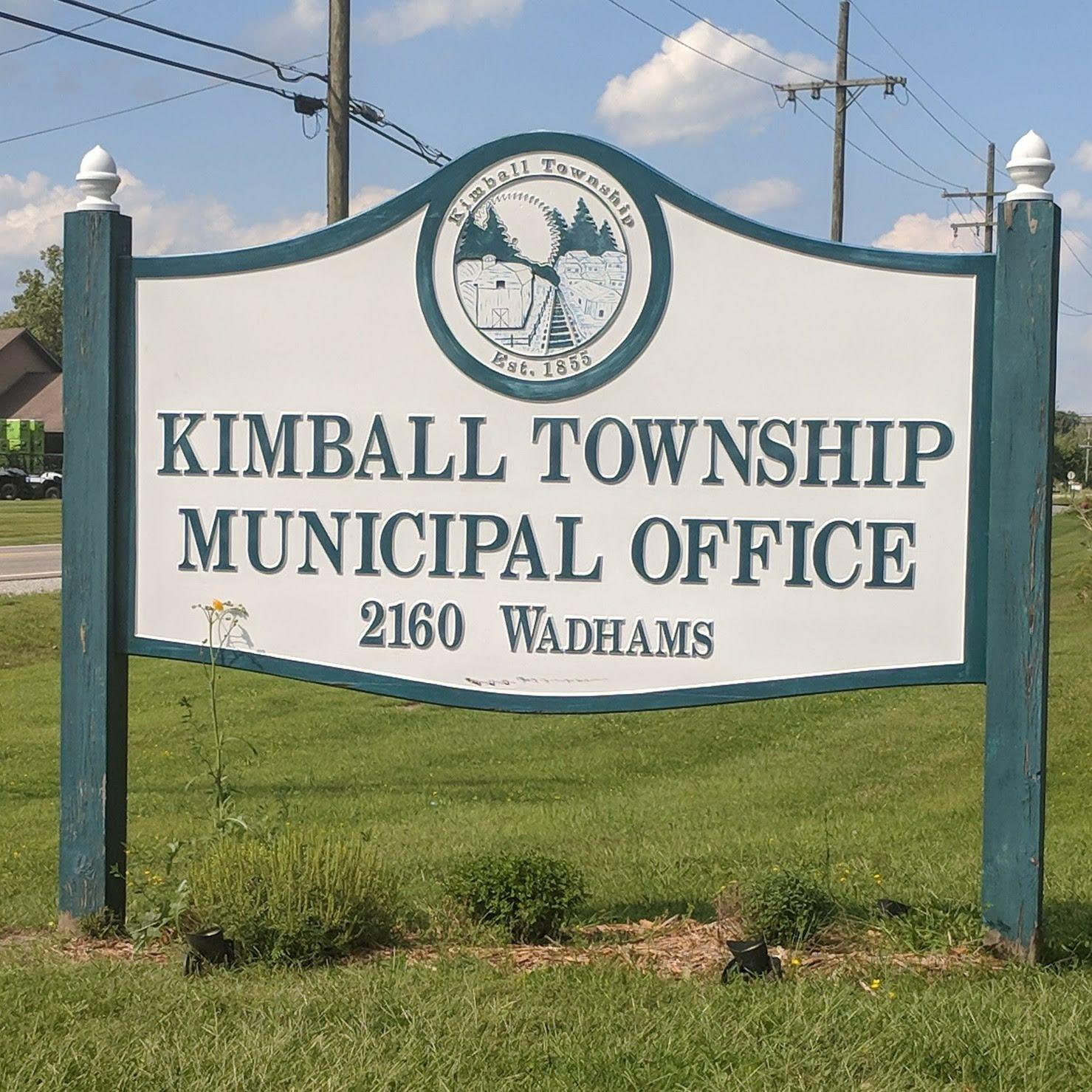 Kimball Township Municipal Office Sign